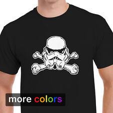 Stormtrooper Jolly Roger Mens T-shirt Star Wars Skull Crossbones Pirate