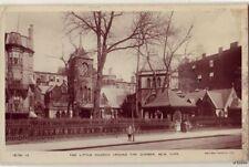 THE LITTLE CHURCH AROUND THE CORNER NYC NY RPPC ROTARY PHOTO  RAJAR BROMIDE CARD