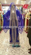DUBAI FANCY MODERN THOBE JILBAB ARABIC KAFTAN DRESS BY MEHREEN CREATION. 4897
