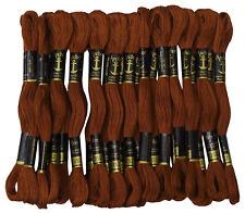 Anchor point de croix a la main broderie fil de coton brin fil 25 echeveaux