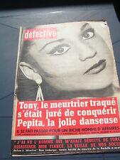 Détective 1968 1144 BERTHELMING PERENCHIES TREMBLAY GONESSE MONTAUBAN LA PALLICE