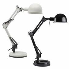 Extendable Energy Efficient LED Table Desk Lamp Light Black White E14 Angled