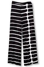 NEW! Marimekko Black & White Striped Palazzo Pants NWT - XS, S, M - RETAILS $30