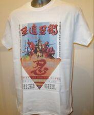 Cinque elemento NINJA CULT 80s Hong Kong Film di Kung Fu T Shirt 5 Venom MOB NUOVO 224