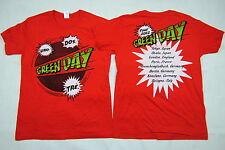 Green Day Altavoz uno dos tre Tour 2012 Remera Oficial Nueva Rara Dookie Nimrod