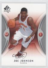 2006-07 SP Authentic #1 Joe Johnson Atlanta Hawks Basketball Card