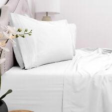 Hotel Quality Soft Comfy Deep Pocket 16'' Bed Sheet Set 1800 Count 4 Piece