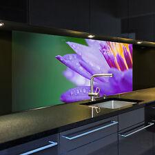 Digitaldruck auf Glas 1025-1-GB Motiv Seerose 6 für Ihre Küche oder als Bild