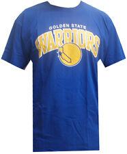 Mitchell & Ness NBA Golden State Warriors Team Arch Camiseta T-Shirt Mens New