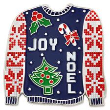 PinMart's Ugly Christmas Sweater Trendy X-Mas Enamel Brooch Pin