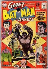 Batman Annual #3 80pg Giant Joker/Two-Face/Robin 1962 DC FREE USA SHIP