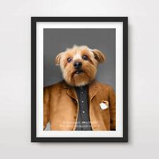 YORKSHIRE TERRIER DOG ART PRINT POSTER Breed Funny Portrait Owner Gift Present