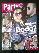 PARTY 1/2012 front DODA  in. Paris Hilton, Vaclav Havel, Meryl Streep