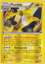 Pharamp reverse-Noir & Blanc-Dragons Exaltés-40/124-Carte Pokemon France Neuve