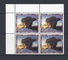 NEW ZEALAND 1997 Sc 1412 $10.00 RUAPEHU MNH block/4