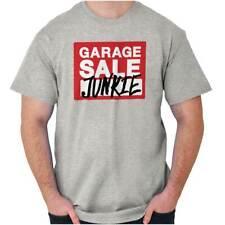 Garage Sale Junkie Thrift Store Shopping Yard Short Sleeve T-Shirt Tees Tshirts