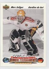 1991 Upper Deck French 683 Mark Seliger Team Germany (National Team) Hockey Card