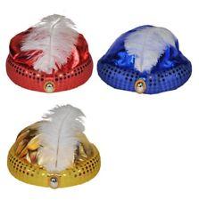 Cappello bambino turbante per travestimento marajà indiano re magio