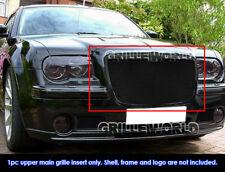 For 05-10 Chrysler 300/300C Stainless Steel Black Mesh Grille Grill Insert