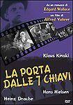 Dvd **LA PORTA DALLE 7 SETTE CHIAVI** con Klaus Kinski nuovo sigillato 1962