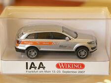 TOP: Wiking Sondermodell Audi Q7 Servicemobil IAA 2007 in OVP