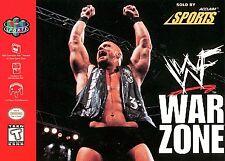 WWF Warzone 64 N64 New Nintendo 64