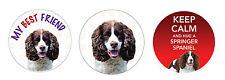 Springer Spaniel Dog Car Van Tax Disc Holder Pet Animal Lover Ideal Present