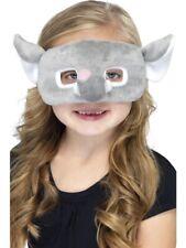 Girls Boys Kids Grey Elephant Furry Mask Book Day Fancy Dress Costume Outfit