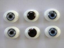 Yeux en verre-paperweight pour/de Poupée ancienne ou moderne - Reborning - 22 mm