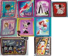 "Disney Fleece Throw Blanket Hand Tied 48"" x 60"" Disney Betty Boop Ariel Minnie"