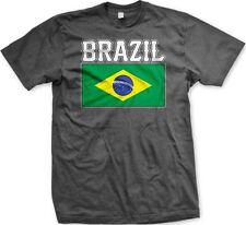 Brazil Flag Brasil Brazilian Futbol Soccer 2014 World Cup - Men's T-shirt