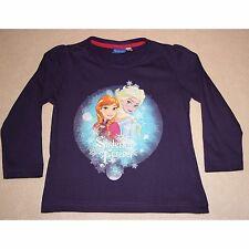 DISNEY t-shirt LA REINE DES NEIGES 2-3 / 4-5 ou 6-7 ans manches longues NEUF