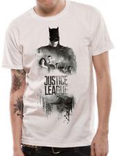 Official JUSTICE LEAGUE movie - Batman Silhouette unisex T Shirt superman DC tee