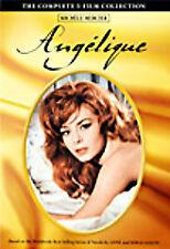 NEW The Complete 5 Film Angelique Collection Box Set Michele Mercier - FREE SHIP