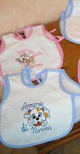 VESTITINO BABY  in spugna, personalizzabile con frasi e nome del bambino