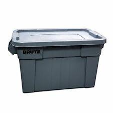 Heavy Duty Commercial Tote Storage Bin with Lid Basket Bin Storage Organize NEW