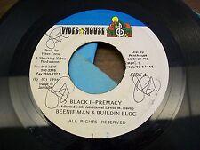 "Beenie Man & Buildin Bloc-Black I-Premacy-Vibes House-Jamaica-Reggae-7"" 45"