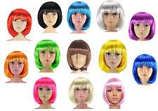 Ladies Womens Sexy Short Bob Cut Wigs Cosplay Fancy Dress Hen Do Party Costume