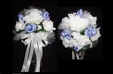 Wedding bridesmaid toss rose bouquet ur colors table