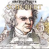 Schubert: Greatest Hits (CD, Aug-1994, Sony Classical) BRAND NEW