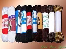 Schnürsenkel weiß braun schwarz farbig, verschiedene Längen Schuhbänder 80 120..