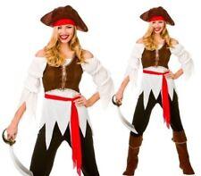 pirate adulte compagnon de bord Déguisement dame sexy Caraïbes femmes costume
