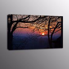 Landscape Canvas Wall Art Sunset Scenery Canvas Painting Prints Art Home Decor