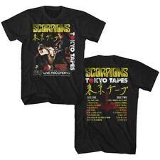 SCORPIONS TOKYO TAPES BLACK ADULT Short Sleeve T-Shirt