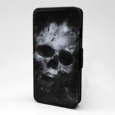 Phone Flip Case Cover Skull Art - S2768