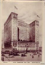 HOTEL COMMODORE NEW YORK CITY, NY RPPC A REAL ROTARY PHOTO ON RAJAR BROMIDE CARD