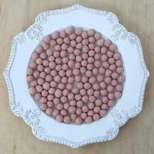 1cm NUDE BLUSH Felt Wool Balls - CHOOSE QUANTITY - handmade pom poms craft