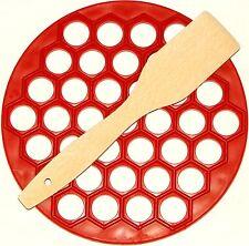 Plastic Ravioli Maker Pelmeni Meat Dumpling One wooden Spatula Choose your color