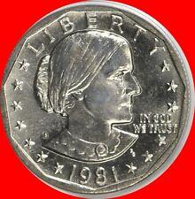 1981 S Susan B Anthony Dollar Choice/Gem Bu from mint sets