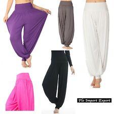 Pantaloni Larghi Donna Casual Sport  - Woman Wide Sport Trousers - TRA004
